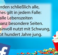 Geburtstagsgrüße und -wünsche für WhatsApp, Facebook & Co.