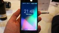 Gigaset ME Pure: Mittelklasse-Smartphone mit Edel-Verarbeitung im Hands-On