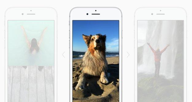 Live Photos auf dem iPhone 6s: Apple kombiniert JPG und 45 Video-Frames