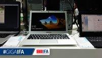 Medion Akoya S3401 Ultrabook mit Aluminiumgehäuse im Hands-On Video (IFA 2015)