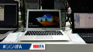 Medion Akoya S3401 Ultrabook mit Aluminiumgehäuse im Hands-On Video (IFA 2015)