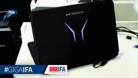 Medion Erazer X7843 Gaming-Notebook im Hands-On Video (IFA 2015)