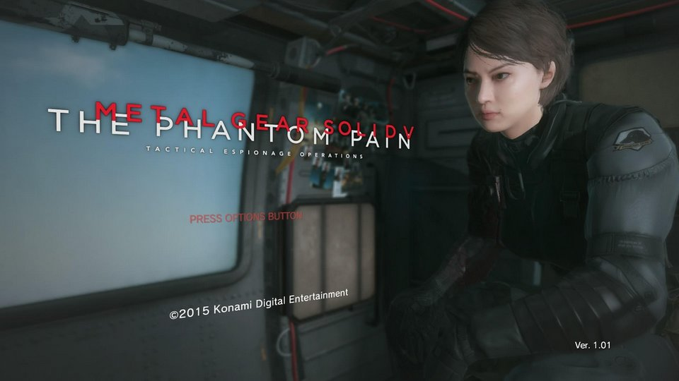 Metal Gear Solid 5 Phantom Pain als Frau