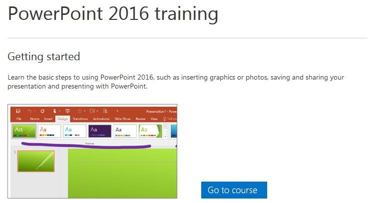 PowerPoint 2016 Training