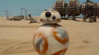 Star Wars 7: Seht hier, wie der knuffige R2D2-Nachfolger seine Runden dreht
