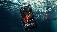 Undichte Xperia-Smartphones: Sony erklärt Unterwasserwarnung