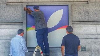 iPhone-Event: Apple dekoriert Bill Graham Civic Auditorium
