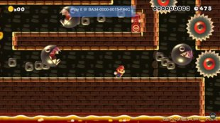 Dieses schwere Level in Super Mario Maker erinnert an Super Meat Boy