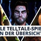 Telltale Games: Alle Spiele in der Übersicht!