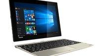 Toshiba Satellite Click 10 mit zweitem Akku im Tastatur-Dock vorgestellt (IFA 2015)