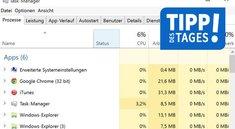 Windows 10: Taskmanager aufrufen und öffnen - So geht's