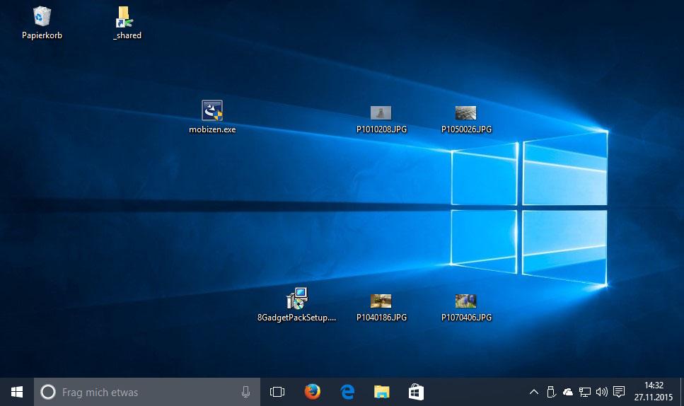 how to open desktop icon in windows 10