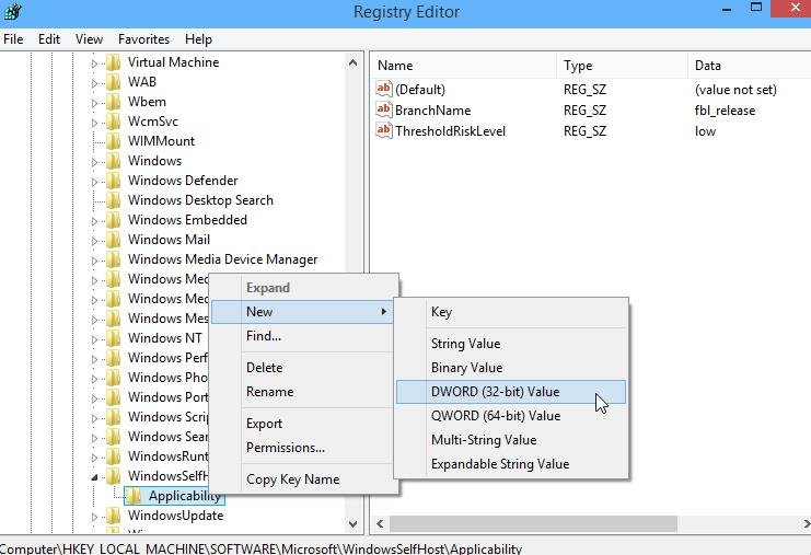 Windows 10 registry Tweaks