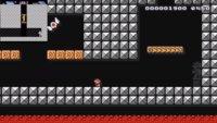 So sieht das erste Dungeon aus Zelda 2 in Super Mario Maker aus
