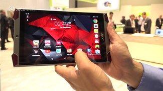 Acer Predator 8: Gaming-Tablet mit 4 Frontlautsprechern im Hands-On-Video [IFA 2015]
