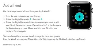 Rickrolling again:  Witziges Easter Egg auf Apple Watch Support Seite entdeckt