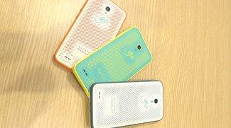 Alcatel Go Play und Watch: Robustes Smartphone & bunte Smartwatch im Hands-On-Video  [IFA 2015]