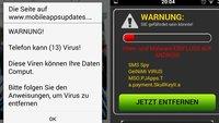 Android: Telefon kann (13) Virus! / (4) Viren infiziert – Was tun? So entfernt ihr sie vom Smartphone