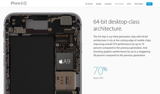 Benchmark: Apple A9 lässt alle anderen Mobil-Chips hinter sich