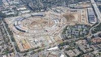 Apple Campus 2: Neue Luftaufnahme zeigt raschen Fortschritt der Bauarbeiten