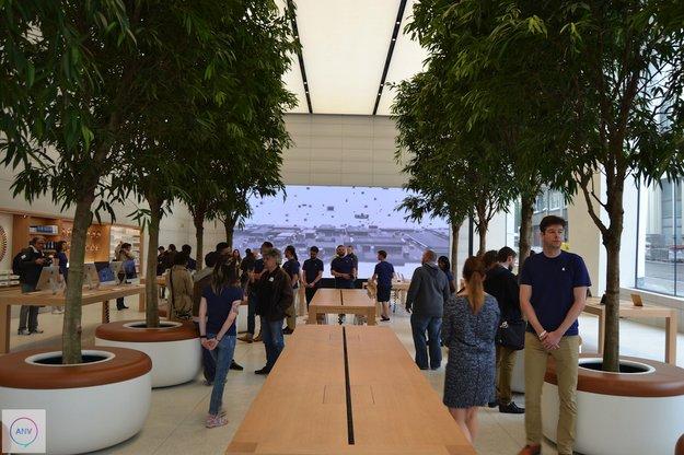 So sieht der erste Apple Store à la Jony Ive aus