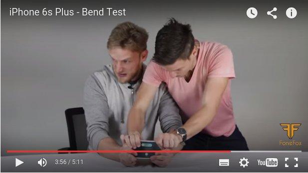 Nie wieder Bendgate – erste Tests zeigen: iPhone 6s lässt sich nicht verbiegen