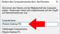 Windows 10, 8 und 7: Computername ändern – so geht's