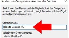 Windows 10: Computername ändern – so geht's