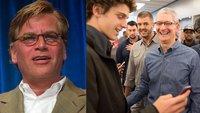 Nach Kritik an Steve-Jobs-Filmen: Aaron Sorkin stichelt gegen Tim Cook