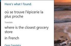 Windows 10: Sätze übersetzen...