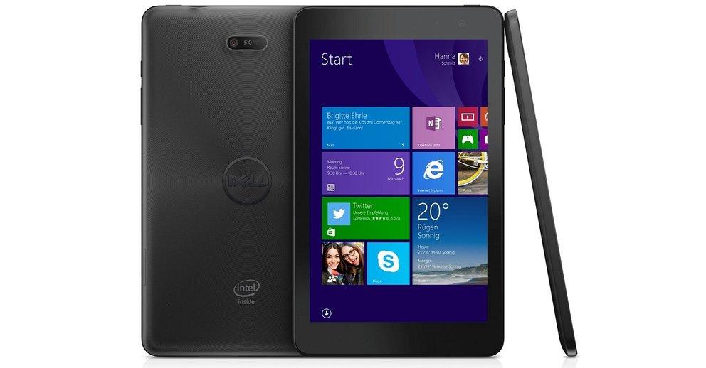 Dell Venue 8 Pro (5855) Windows 10 Tablet mit Intel Atom x5 geleakt [EXKLUSIV]