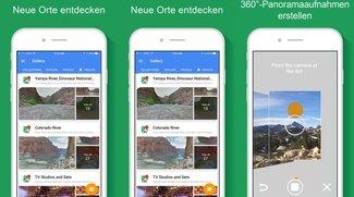 Google veröffentlicht eigene Street-View-App