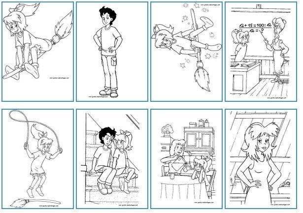 Gratis Lego Ausmalbilder Zum Herunterladen Und Ausdrucken: Bibi Und Tina: Ausmalbilder Und Malvorlagen Zum