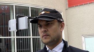 Headflat: Selfie-Stick für Basecap-Träger im Heads-On-Video [IFA 2015]