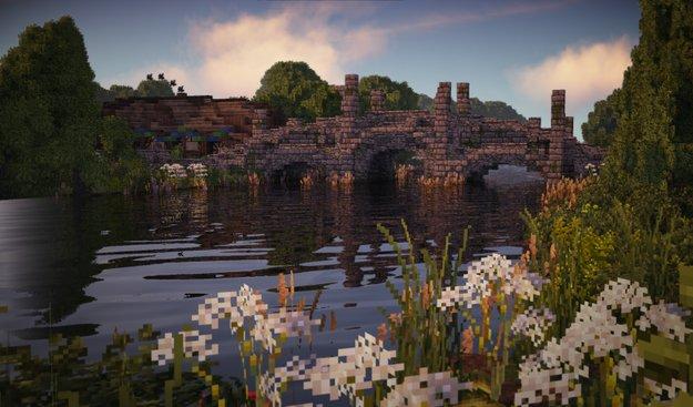 So schön sieht Hobbingen in Minecraft aus