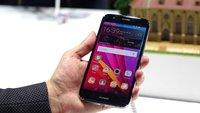 Huawei G8: Mittelklasse-Phablet mit Metallgehäuse & Fingerabdrucksensor im Hands-On-Video [IFA 2015]