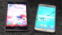 Samsung Galaxy S6 edge vs. Huawei Mate S: Premium-Smartphones im Videovergleich [IFA 2015]
