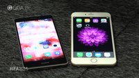 iPhone 6 Plus vs. Huawei Mate S: Edel-Phablets im Video-Vergleich [IFA 2015]
