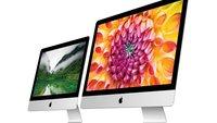 21,5-Zoll-iMac mit 4K-Display soll in der kommenden Woche vorgestellt werden