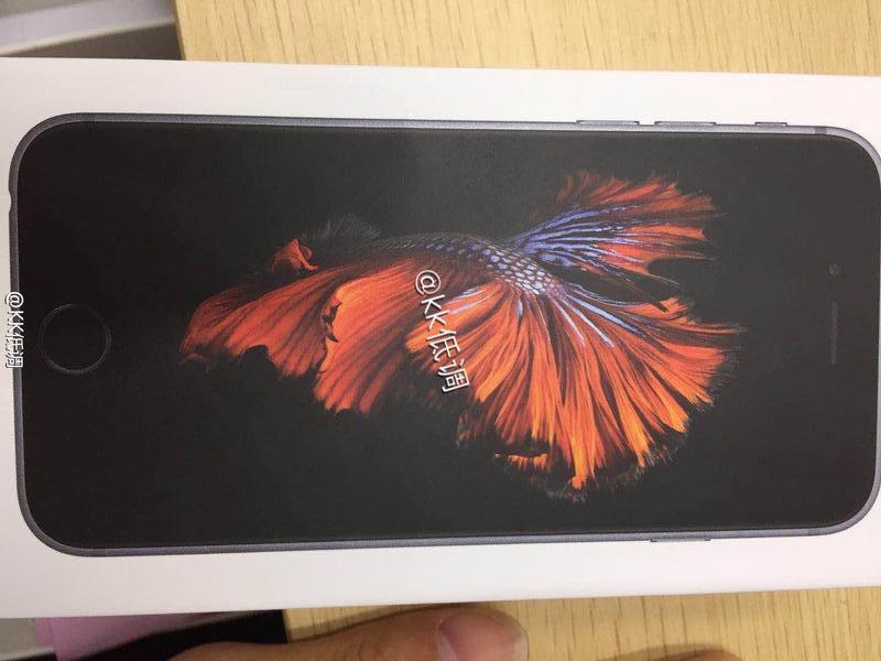 iPhone 6s: Weitere Bilder der angeblichen Verpackungen aufgetaucht