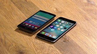 iPhone 6s Plus vs. LG G4: 5,5-Zoll-Flaggschiffe im Vergleich