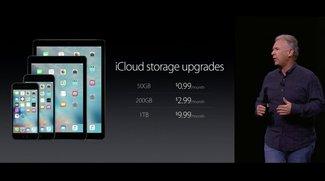 Neue Preise für iCloud-Speicherplatz