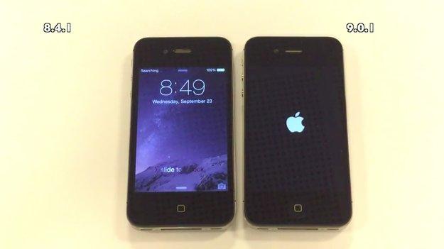 Videobeweis: iOS 9 macht iPhone 4s, 5 und 5s etwas langsamer