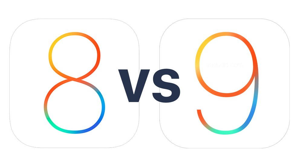 iOS 9 vs. iOS 8: Akkulaufzeiten im Vergleich