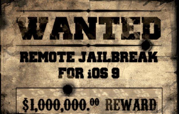 """""""Zeigt uns einen iOS-9-Jailbreak und kassiert 1 Million Dollar"""""""