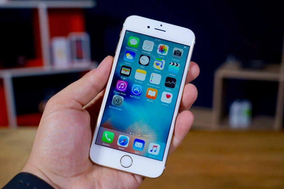 iOS 9 auf dem iPhone 6s