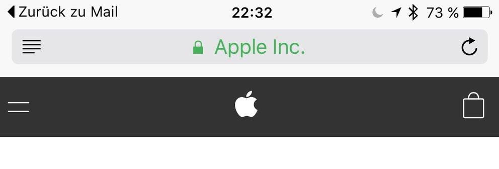 iOS 9: Zurück-Funktion