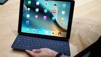 iPad Pro im Hands-On: das 12,9-Zoll-Tablet mit Stift und Tastatur (Video)