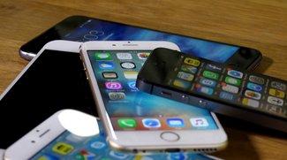 iPhone 6s (Plus), iPhone 6, und iPhone 5s im Vergleich: Welches Modell kaufen?