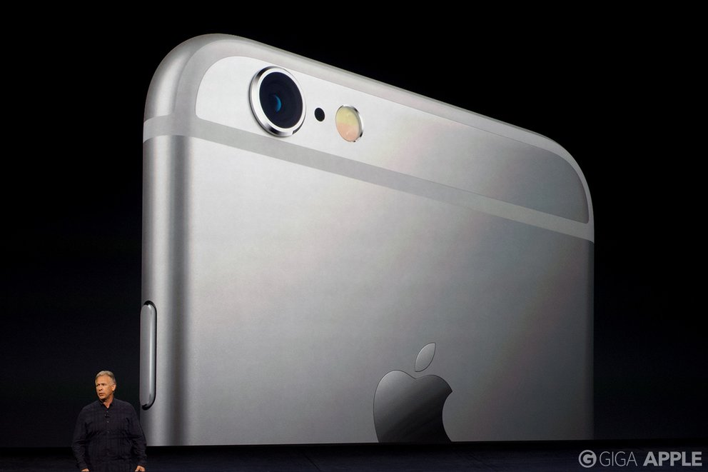 iPhone 6s und iPhone 6s Plus – neue Kameras. Foto: giga.de